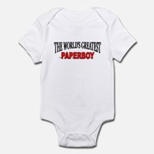 """The World's Greatest Paperboy"" Infant Bodysuit"