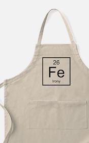 Irony Element Apron