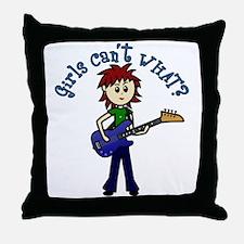 (Bettis) Custom Bass Guitar Throw Pillow