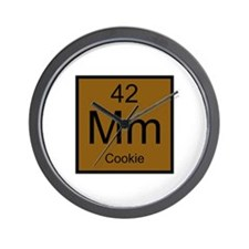 Mm Cookie Element Wall Clock