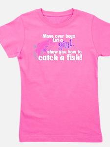 Move Over Boys - Fish Girl's Tee