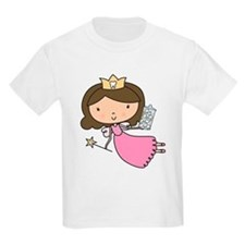 Oh So Sweet Little Brunette Tooth Fairy T-Shirt