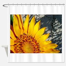 Sunset Sunflower Shower Curtain