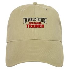"""The World's Greatest Personal Trainer"" Baseball Cap"