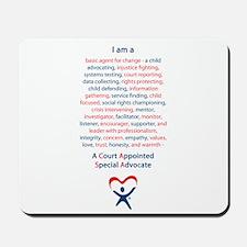 I am a CASA Mousepad