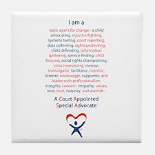 I am a CASA Tile Coaster