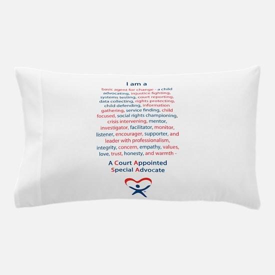 I am a CASA Pillow Case
