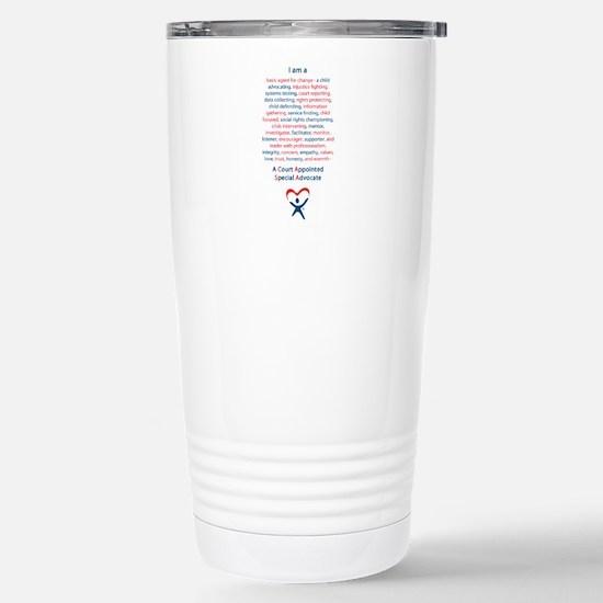 I am a CASA Travel Mug