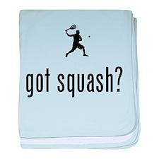 Squash baby blanket