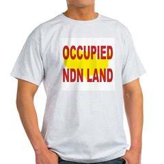 Occupied NDN Land T-Shirt