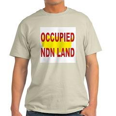 Occupied NDN Land T-Shirt