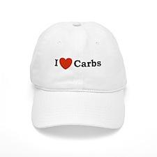 I Love Carbs Baseball Cap