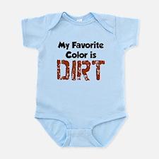 Favorite Color Is Dirt Body Suit