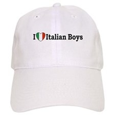 I Love Italian Boys Baseball Cap