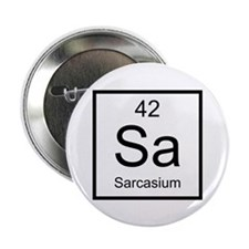 "Sa Sarcasium Element 2.25"" Button (10 pack)"