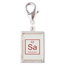 Sa Sarcasium Element Silver Portrait Charm