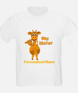 Personalized Sisters T-Shirt