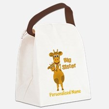 Personalized Sisters Canvas Lunch Bag