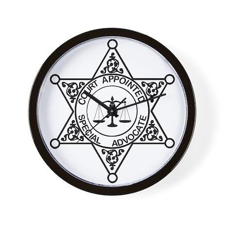 CASA Badge Wall Clock