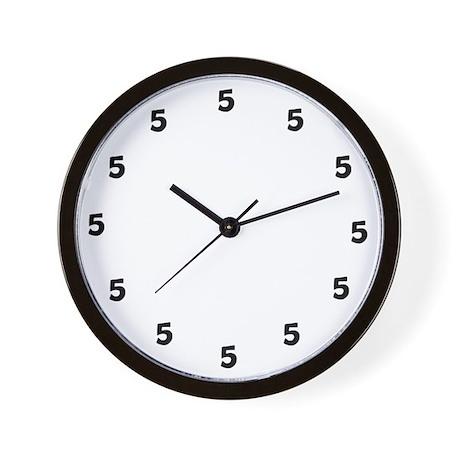 U0026quot;5 Ou0027 Clock Somewhereu0026quot; Wall Clock