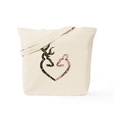 Deer Heart Tote Bag