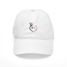 Deer Heart Baseball Baseball Cap