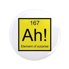 "Ah! Element of Surprise 3.5"" Button (100 pack)"