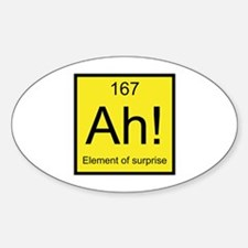 Ah! Element of Surprise Decal