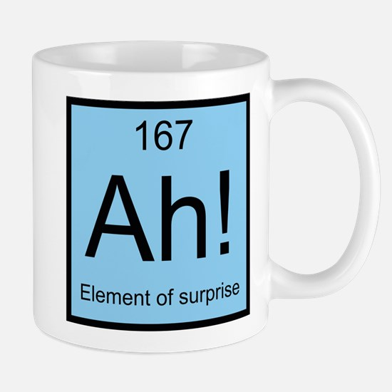 Ah! Element of Surprise Mug