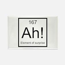 Ah! Element of Surprise Rectangle Magnet