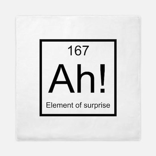 Ah! Element of Surprise Queen Duvet