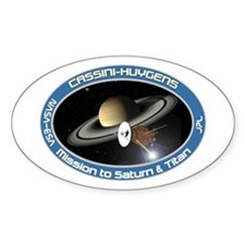 Cassini Saturn Decal