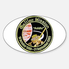 Galileo: Jupiter Sticker (Oval)