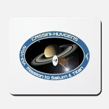 Cassini Saturn Mousepad