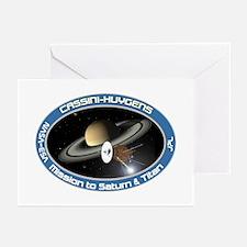 Cassini Saturn Greeting Cards (Pk of 10)