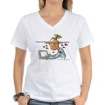 Creative Daydreaming | Women's V-Neck T-Shirt