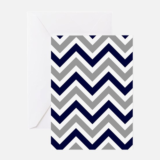 'Zigzag' Greeting Card