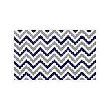 Navy blue chevron rug 3x5 Rugs