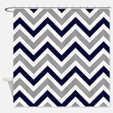 'Zigzag' Shower Curtain