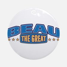 The Great Beau Ornament (Round)