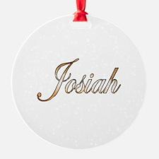 Cute Josiah Ornament