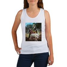 Cool Fantasy wolf Women's Tank Top
