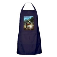 The White Wolf Propphecy Lovers Apron (dark)