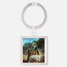 The White Wolf Propphecy Lovers Keychains