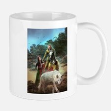 The White Wolf Propphecy Lovers Mug