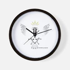 Screaming Cockatoo Wall Clock