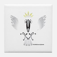 Screaming Cockatoo Tile Coaster