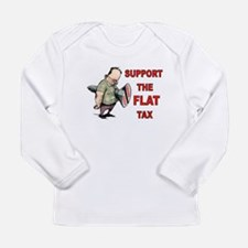 FLAT TAX Long Sleeve T-Shirt