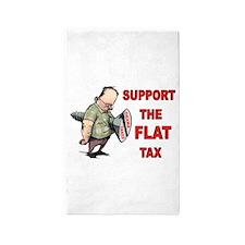 FLAT TAX 3'x5' Area Rug