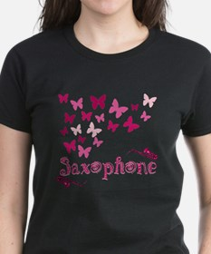 Butterfly Saxophone Tee